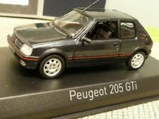 1/43 Norev Peugeot 205 Gti 1,9 dunkelgrau metallic 471714
