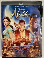 Aladdin (2019, DVD - Will Smith) New & Sealed FREE Shipping box damage