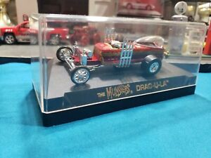 1/64 Scale Diecast The Munsters Dragula Coffin Car W/case BEAUTIFUL HARD TO FIND