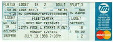 Jimmy Page & Robert Plant *Unused Ticket* July 13, 1998 Fleet Center, Boston