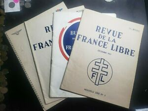 Lot of Four France Brochures from the 1940's