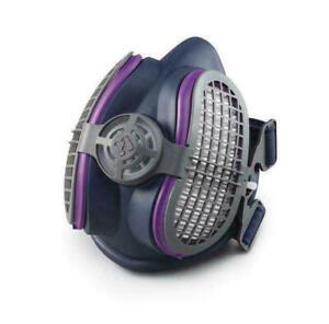 Miller Electric ML00895 Half Mask Respirator LPR-1OO W/P1OO Filters Size: M/L