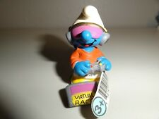 VTG 2002 Smurf VIRTUAL Reality video game player Schleich peyo germany 20521