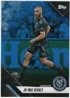 2019 Topps MLS Soccer Blue Parallel /99 #96 Jo Inge Berget