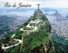 Brazil - Rio # 3 - Travel Souvenir Flexible Fridge Magnet