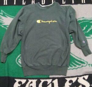 Vtg 90s Champion Reverse Weave Spellout Sweatshirt xxl