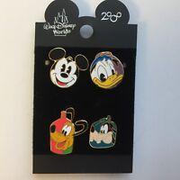 DCL FAB 4 Mount Rustmore 4 Pin Set Disney Pin 3393