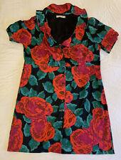 Estelle Size 22 Floral Ruffle Dress