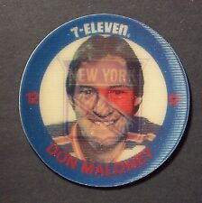 DON MALONEY 12 - 1984-85 7-Eleven Discs #36 New York Rangers Single