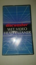 Discwasher Wet Video Head Cleaner VHS Jensen INC.