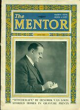 THE MENTOR Magazine June 1923 illustrated article on Salem's Witchcraft Trials