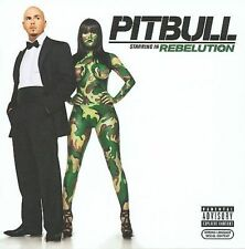 Pitbull Starring in Rebelution CD New Sealed Nuevo