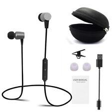 New Wireless Bluetooth Headset Sport Stereo Earphones Headphones Earbuds W/ Mic