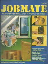 JOBMATE 22 DIY - SHOWER PLAN, FITTING EXTRACTOR FAN etc