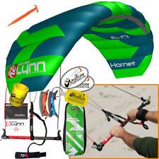 Peter Lynn Hornet 6M Foil Power Kite Kiteboarding 4-Line Fixed Control Bar 2017