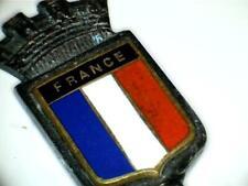 "Vtg France 'Flag & Crown' Enamel Collectible Souvenir Spoon 4-3/8"""