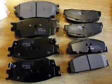 Front & rear Brake pads, Mazda 6 1.8i 2.0DT, GG 02-07 for 274mm discs, 8 pad set