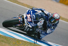 Randy De Puniet MotoGP Hand Signed Power Electronics Aspar ART Photo 12x8 2013 A