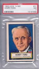 1952 Topps Look 'N See # 31 Henry Ford PSA 7