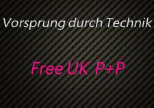Vorsprung durch Technik sticker decal for AUDI S3 TT RS4 RS6 A3 A4