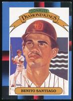 1988 Donruss Diamond Kings #3 Benito Santiago San Diego Padres