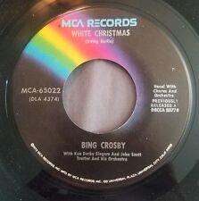 Bing Crosby 45 White Christmas / God Rest Ye Merry Gentlemen MCA-65022 MCA