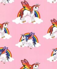 HORSE RAINBOW UNICORN PINK PRINCESS GIRLS BEDROOM WALLPAPER DEBONA 6303