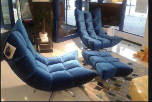2x Bretz Hangout Sessel+2x Hocker*NP.6.999€
