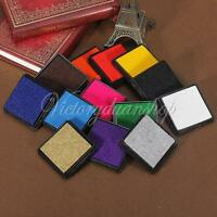 All-purpose Ink Pad Craft Oil Based Ink Stamp Pad for Rubber Stamps Paper/Wood