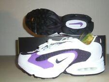 New Nike Womens Air Max Triax white black   Running Shoes sz 10