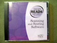 Rigby Reads Scanning And Scoring Software 2006 Cd-Rom