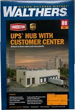 HO Scale Walthers Cornerstone 933-4110 UPS Hub w/Customer Center Building Kit