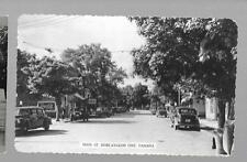 pk26258:Real Photo Postcard-Main Street,Bobcaygeon,Ontario  Coke Sign
