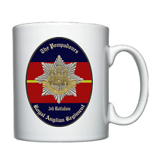 3rd Battalion Royal Anglian Regiment (The Pompadours) - Personalised Mug