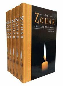 *RARE* Mysticism Kabbalah Zohar (5 Volume set): Vols 1-5 Hardcover – 1 June 1934