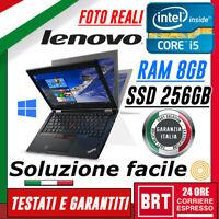 PC NOTEBOOK PORTATILE LENOVO THINKPAD YOGA 260 G2 i5 6200u 8GB SSD 256GB TOUCH A