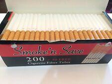 40 boxes (MasterCase) 10,000 Premium King Size cigarette filter tubes