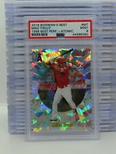 2018 Bowman's Best Mike Trout 1998 Performers Atomic Refractor PSA 9 MINT U41