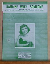 Dancin' With Someone (Longin' For You) - 1953 sheet music - Teresa Brewer photo