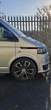 VW T5 Side Panel Sticker Decal Gloss Black