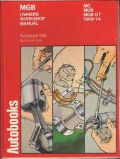 MG MGB ROADSTER,CONVERTIBLE,MGB GT COUPE,AUTOBOOKS WORKSHOP MANUAL 1969-1974