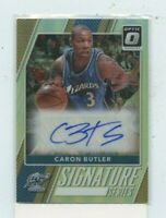 CARON BUTLER 2017-18 Panini Donruss Optic Signature Series Prizm Auto #57