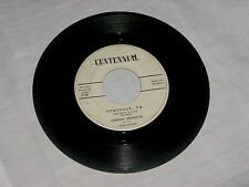 Rare 45rpm Record Colonel Drake Titusville Pa.Oil Town USA Johnny Brunette