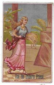 DAY'S SOAP - DAY & FRICK SOAP PHILADELPHIA, - VICTORIAN TRADE CARD LADY