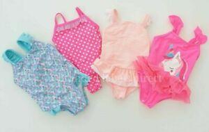 BABY GIRLS SWIMSUIT MERMAID UNICORN SWIMMING COSTUME KIDS SWIMWEAR 0-3 YEARS