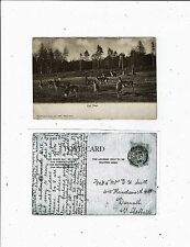POST CARD EARLY PRINTED ANIMALS RED DEER