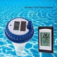 Solar Energy Digital Wireless Swimming Pool Floating Thermometer SPA Time Alarm