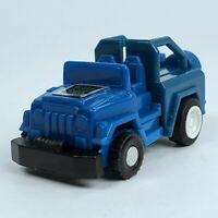 Vintage Motorized Transformers G1 Mini Spy Blue Jeep Autobot Takara 1984