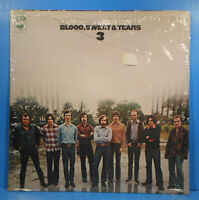 BLOOD, SWEAT AND TEARS 3 LP 1970 ORIGINAL SHRINK GREAT CONDITION! VG++/VG++!!D
