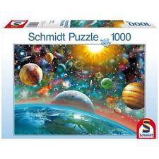SCHMIDT 58176 - Puzzle - Weltall, 1000 Teile